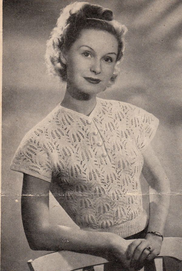 Vintage Knitting Patterns Vintage Patterns And Making