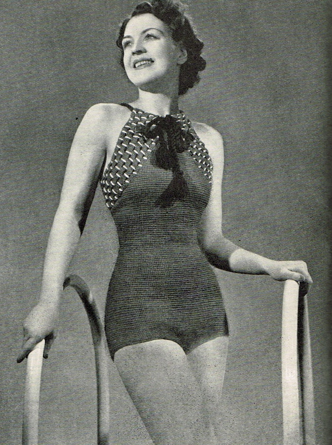 Crochet costume