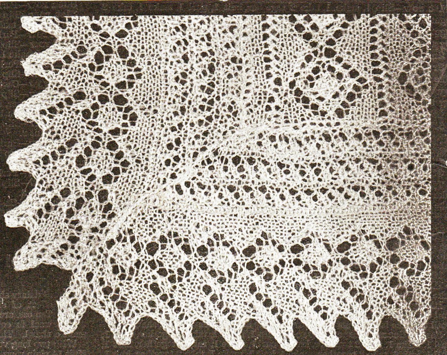 Vintage Baby Christening Shawls Knitting Patterns Vintage Patterns
