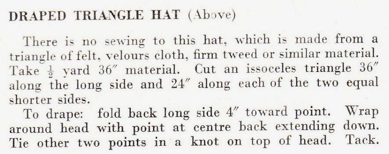 Draped hat1