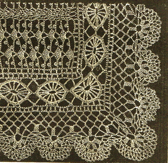 Vintage Victorian Crochet Lace Shawl Patterns Vintage Patterns And