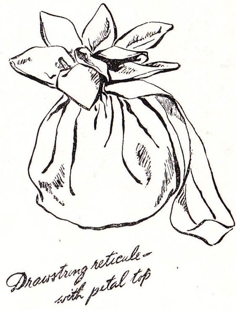 Petal trim bag