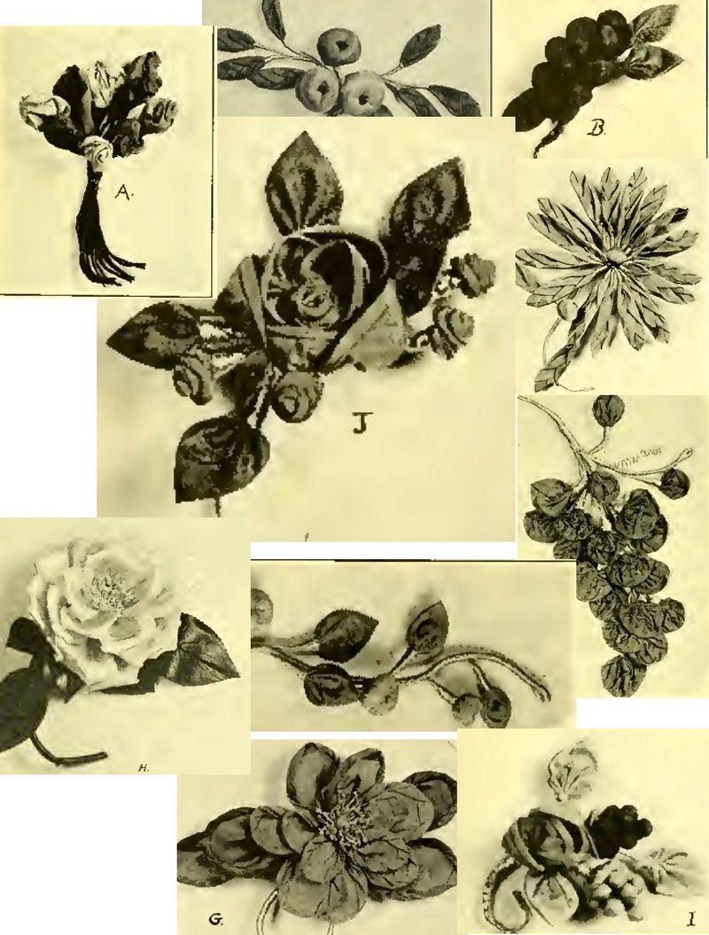 1920s fabricflowers