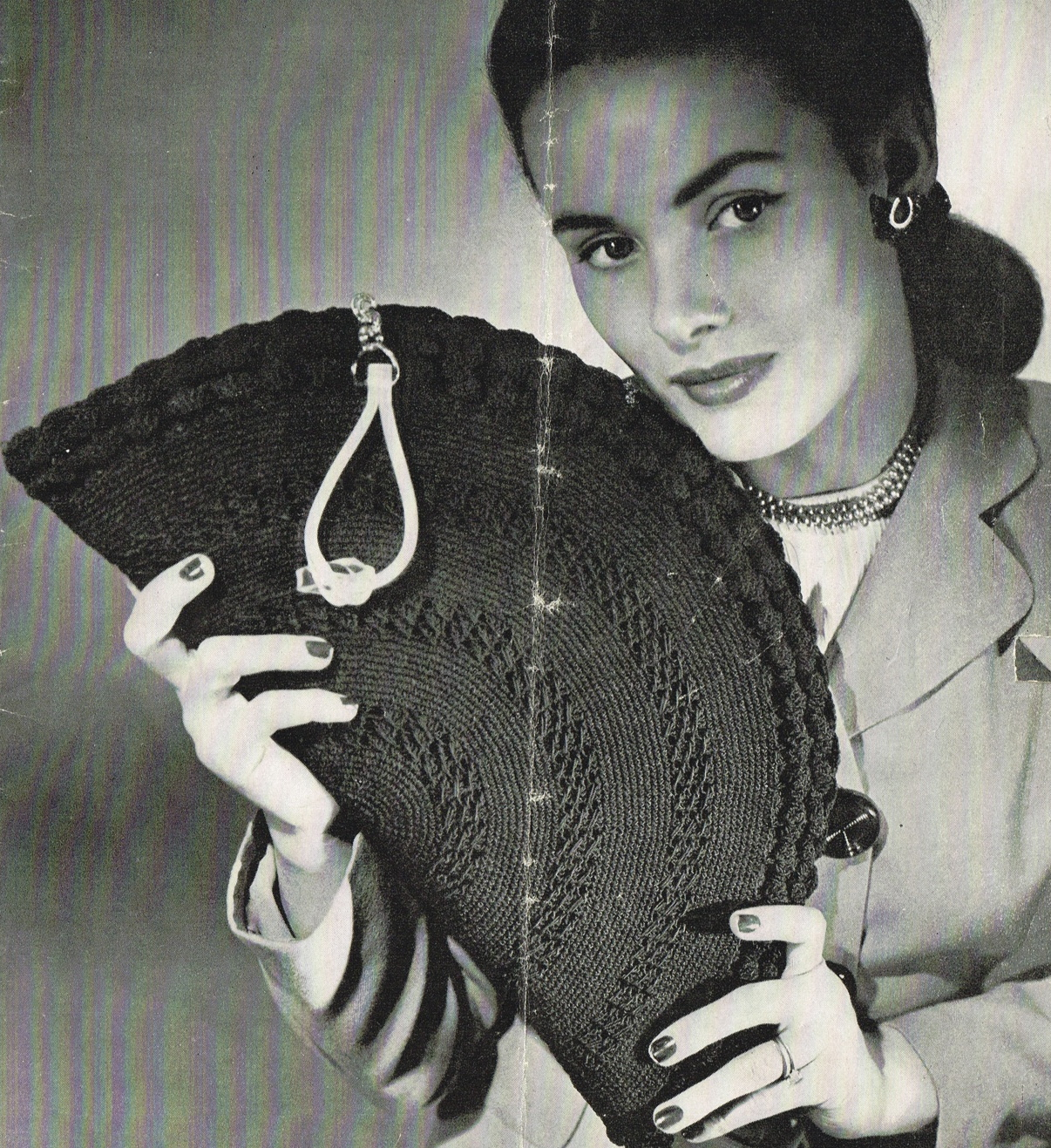 Vintage Handbag Crochet Patterns - Vintage patterns and making