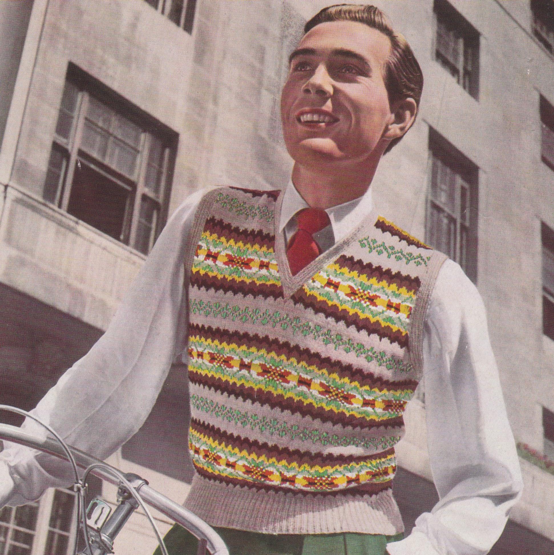Vintage Fair Isle knitting patterns - Vintage patterns and making