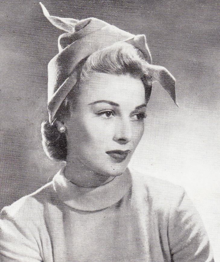 Vintage 1940s hat sewing patterns - Vintage patterns and making