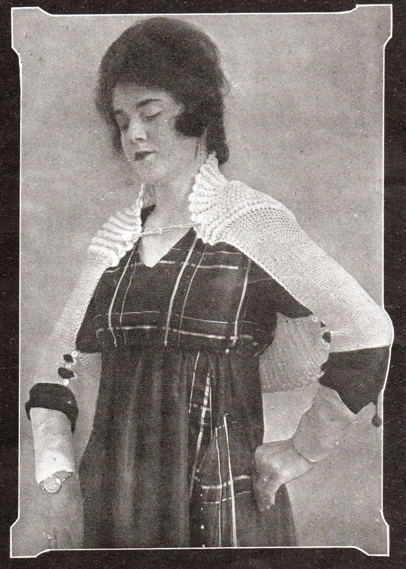 Early 1900s shrug