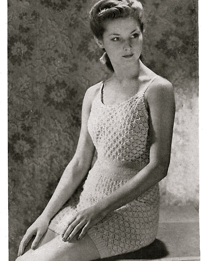 Vintage patterns and making: knitting