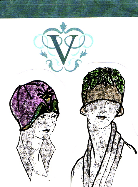 b9b0d5f2931dff How to make a Downton Abbey era 1920s flapper style hat- sewing ...