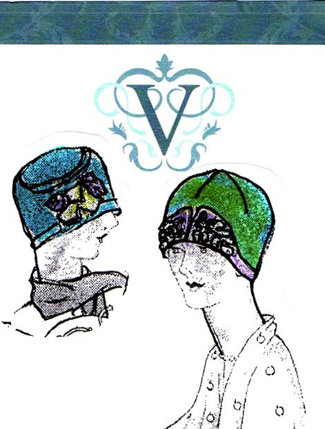 Flapper hats 3