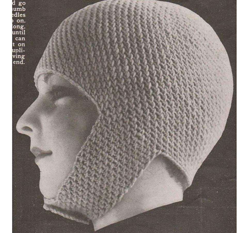 Joan of arc helmet hat crochet pattern vintage patterns and making joan of arc hatpage1 dt1010fo
