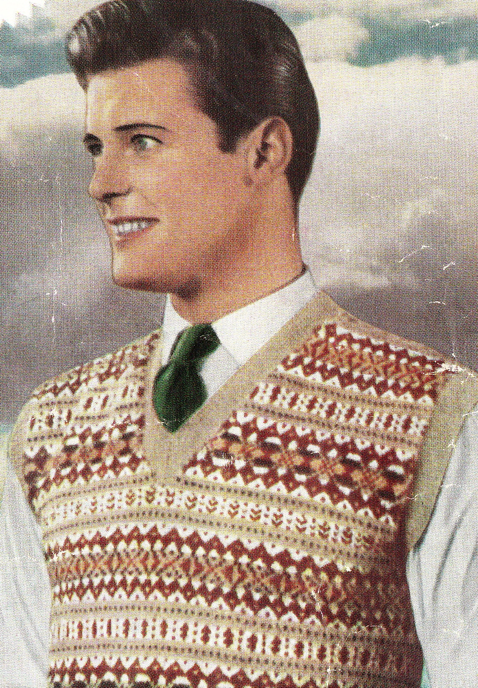 Vintage patterns and making: Celebrities in knitting and crochet ...