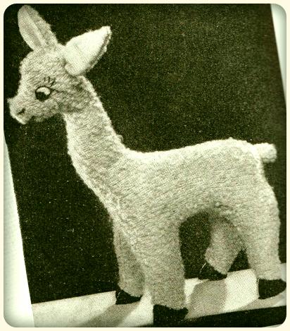 1940s Holly Llama
